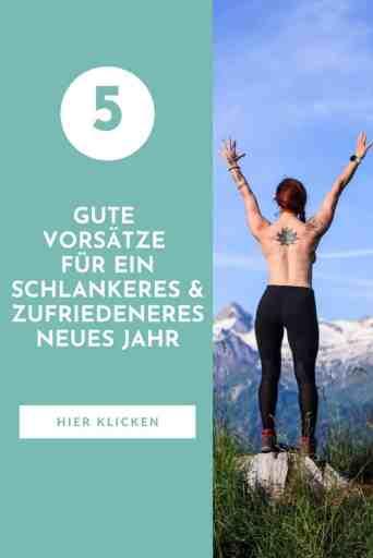 #Gute #Vorsätze - aber richtig! Die besten #Gewohnheiten, um #gesund #schlank und #fit ins neue Jahr zu starten, findest du hier.