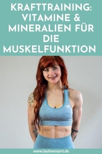 Krafttraining: Das sind die wichtigsten Vitamine und Mineralien für die Muskelfunktion - gesunde Ernährung für die Regeneration, so geht's wirklich.