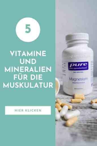 5 #Vitamine und #Mineralien für deine #Muskeln. #Gesunde #Ernährung für #Krafttraining und #Muskelfunktion