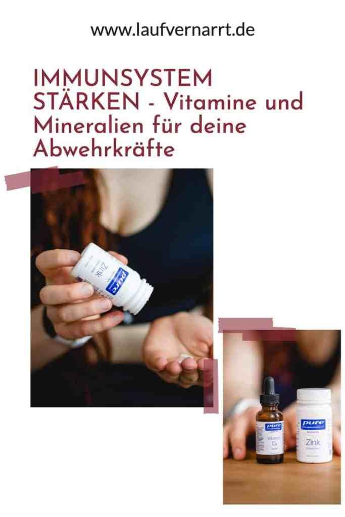 #Immunsystem #stärken - das sind die wichtigsten #Vitamine und #Mineralien für deine #Abwehrkräfte.