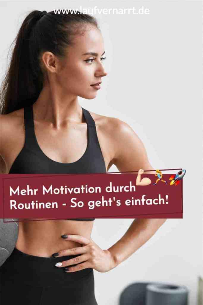 Du willst mehr #Motivation durch #Routinen? Hier kommen die besten Tipps für deine #Gewohnheiten fürs #Wohlbefinden.