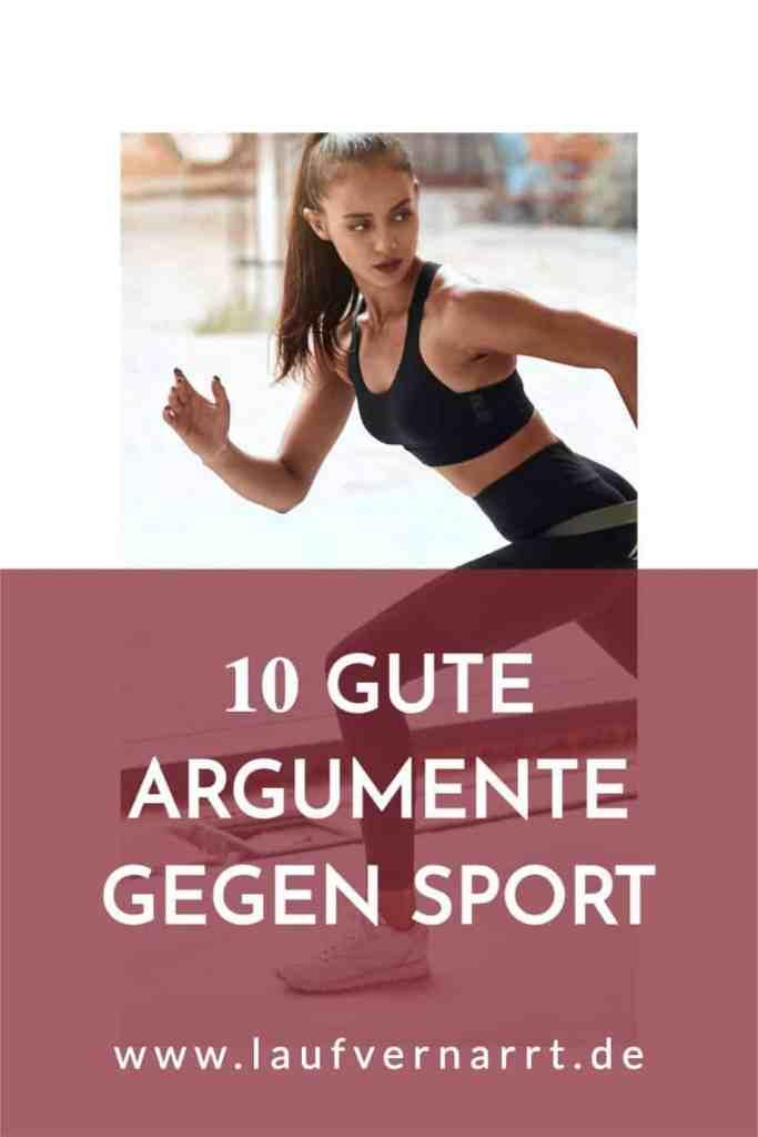 #Keine #Lust auf #Sport? Hier kommen 10 echte #Argumente gegen #Training.