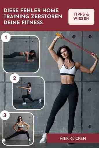 #zuhause #trainieren - diese Fehler im #Home #Workout zerstören deine #Fitness und behindern den #Muskelaufbau!
