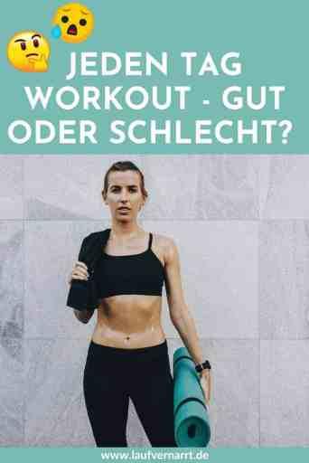 Willst du jeden Tag #Workouts machen? Ist das gut oder schlecht? Das solltest du über #tägliches #Training wissen!