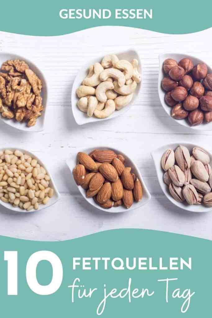 Gesunde Fette - Liste der besten Fettquellen für jeden Tag! Das solltest du über gute und schlechte Fette wissen und so viel Fett brauchst du wirklich!