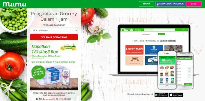 grocery online Bandung