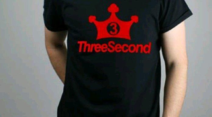 kaos pria 3Second