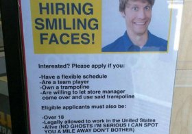 Excellent Hiring Ad
