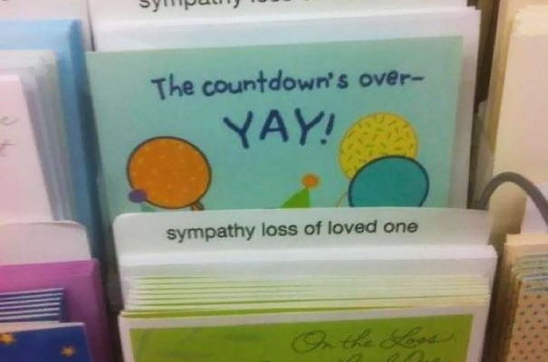 A greeting card for those special people