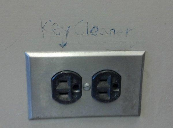 Key cleaner. The answer will shock you!