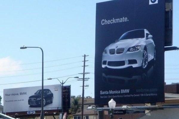War between car dealers
