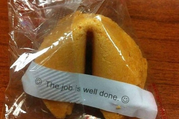 A job well done