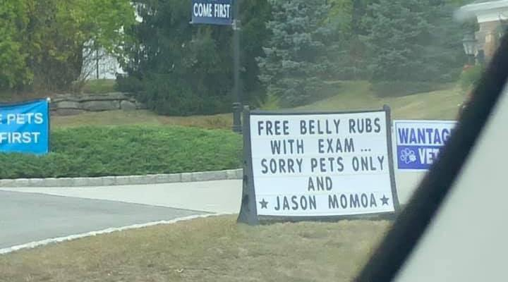 Free Belly Rubs with Exam...