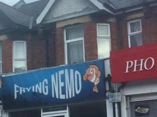 Frying Nemo