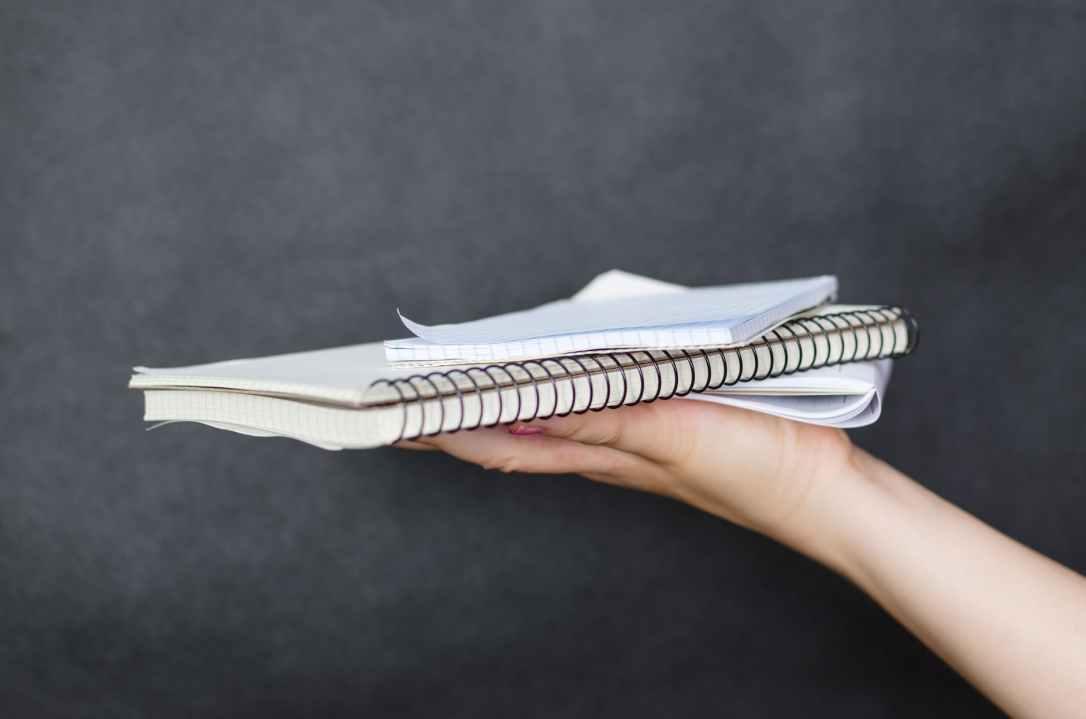 blank book bindings business communication