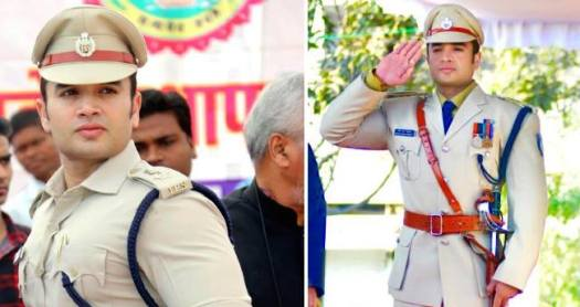 To meet the handsome IPS officer, a lady fan travels from Punjab to Madhya Pradesh