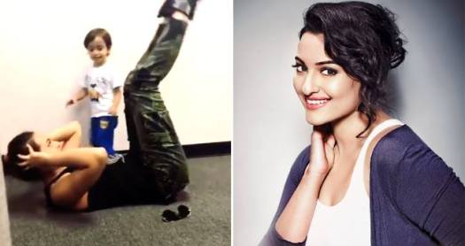 Salman Khan's Nephew Ahil Sharma is a strict trainer to Sonakshi Sinha
