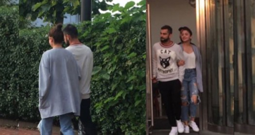 After Heading To England, Virushka Seen Walking Hand-In-Hand On The Streets Of Cardiff
