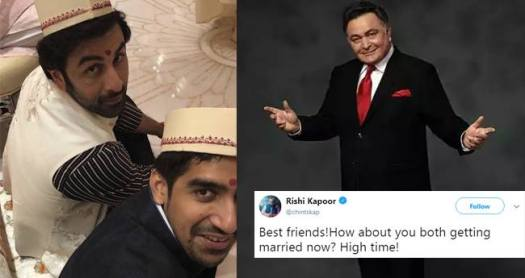 Rishi Kapoor Says Its High Time For Ranbir Kapoor To Get Married