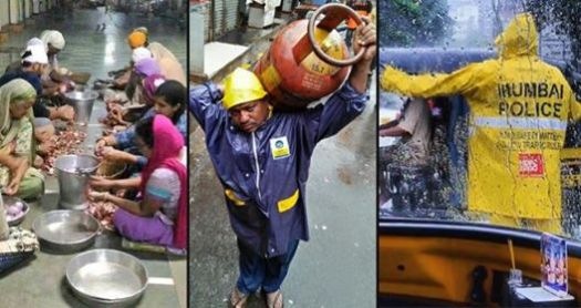 Real Heroes Of Mumbai Came Forward To Help People During Heavy Rain
