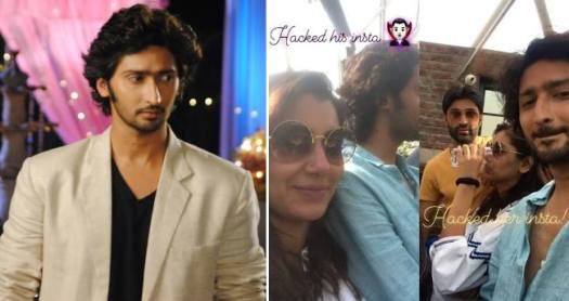 Looks like Sriti Jha and Kunal Karan Kapoor made it official by hijacking each other's Instagram