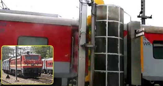 Automatic Train Washers Installed On A Delhi Railway Station That Can Save 453 Lakh Lt Of Water Per Year