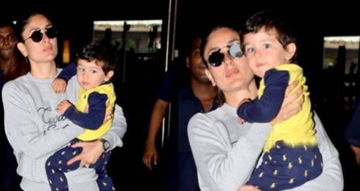 Taimur Ali Khan Arrives In India After A Long Vacation With Parents In London