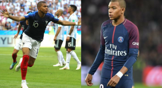 Meet The 19-Year-Old Kylian Mbappe Who Successfully Scored 2 Goals Against Messi's Argentina