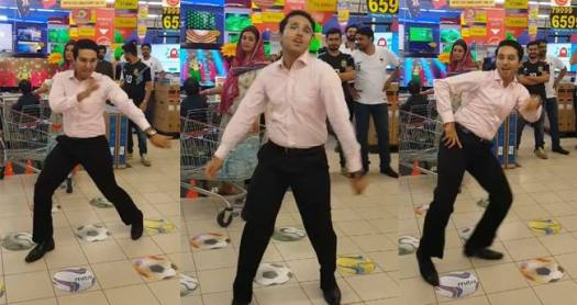 Another internet sensation, Mehroz Baig gained 5 million views on his dancing video in mall