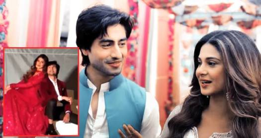Jennifer Winget and Harshad Chopda photoshoot went viral and fans are gushing over their chemistry