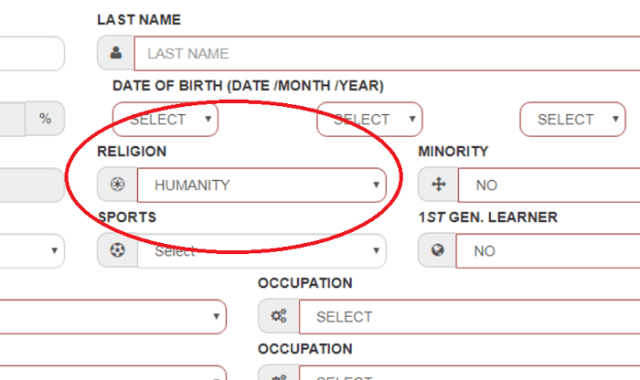 Kolkata College Admission Form Permits You to Pick 'Humanity' as Religion