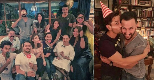 Kareena, Saif, Soha, Neha Dhupia, Angad Bedi get together to rejoice Kunal Kemmu's birthday