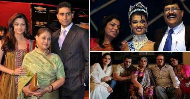 Bollywood Stars And Their Family Together In A Frame