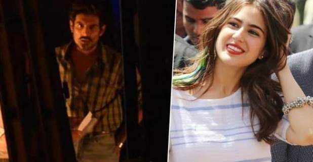 Love Aaj Kal 2: Sara Ali Khan donned Lime green top with a quirky green hairdo whereas Kartik Aaryan was seen sporting 2 different looks