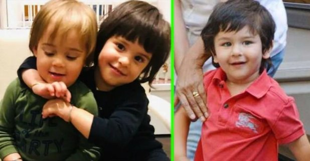 Check out the adorable & cute videos of Bollywood star kids