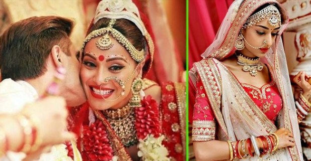Bipasha added charm to Erica's beautiful bridal look by her special styling tips