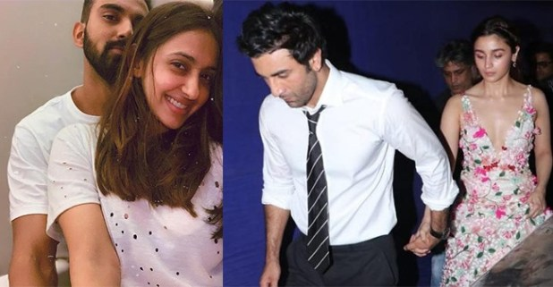 KL Rahul along with his girlfriend meets Alia Bhatt and Ranbir Kapoor