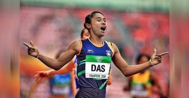 The 'Unstoppable' Hima Das Bags Another Gold In Czech Republic