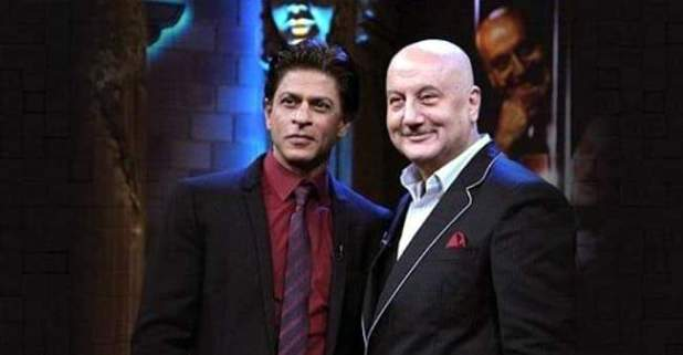 Shah Rukh Khan and Anupam Kher's cute Twitter banter will make your day.