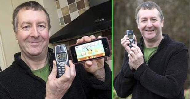 Nokia 3310's news to be 70% charged even after 20 years is spurious
