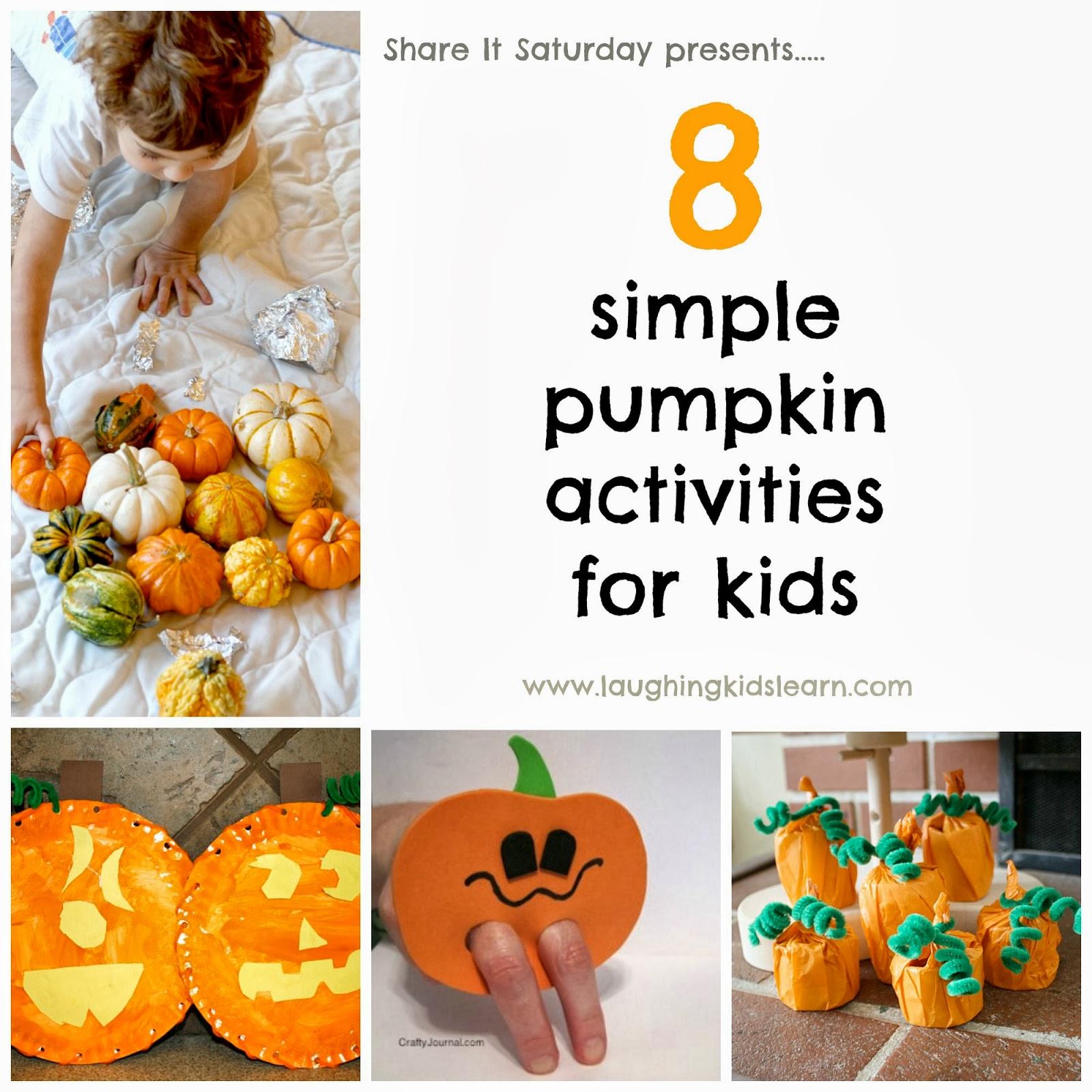 8 Simple Pumpkin Activities For Kids