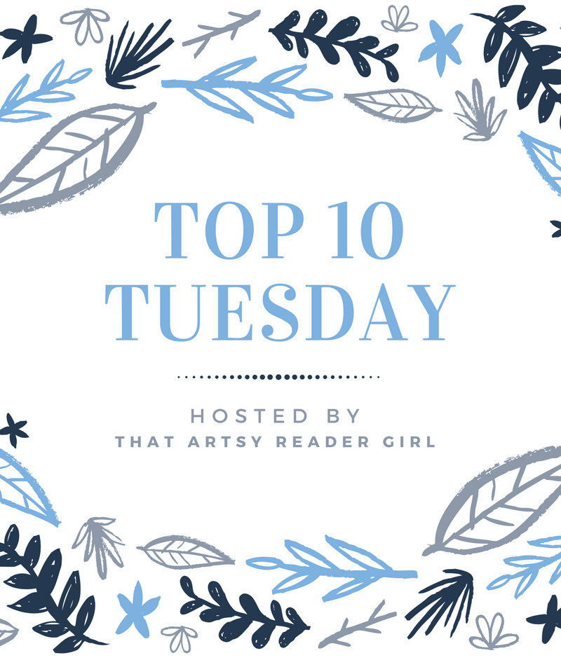 Top Ten Tuesday: Book Brain Mush