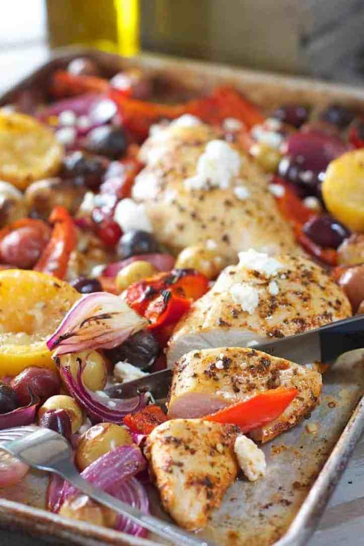 Greek Sheet Pan Dinner
