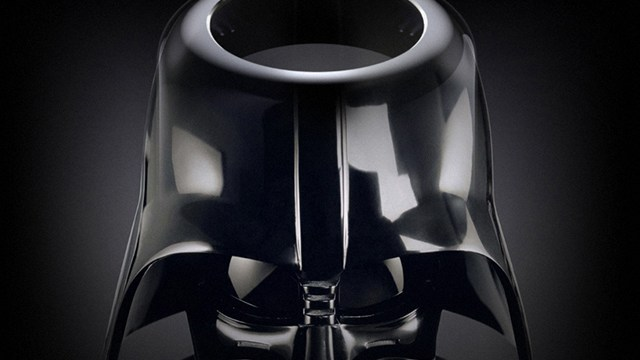 An Angry Feline Dons A Darth Vader Helmet And Takes On Its Owner In