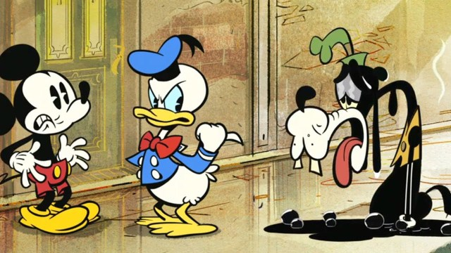 Voices of Mickey Mouse  Donald Duck Dubbed Over Pulp Fiction Scene
