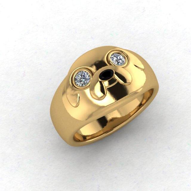 Custom Wedding Rings 43 Luxury Custom uAdventure Time u