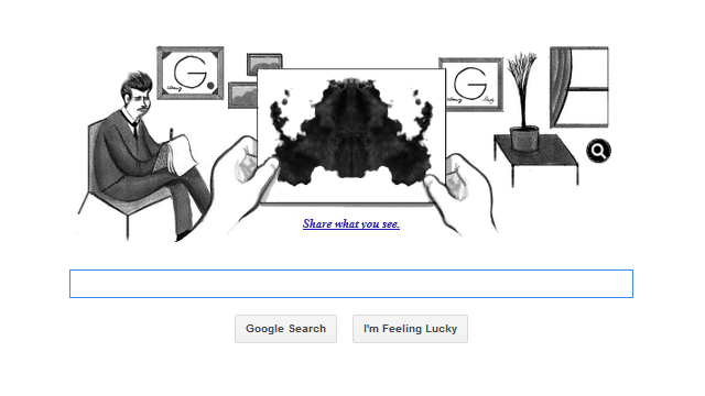 Google celebrates the 180th birthday of venn diagram inventor john google doodle celebrates the 129th birthday of hermann rorschach with an inkblot test ccuart Gallery
