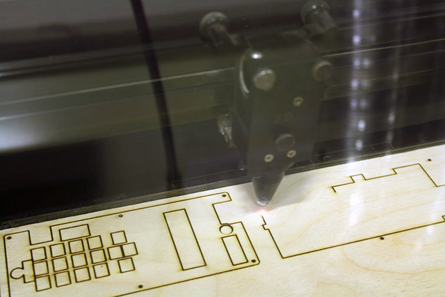 Laser-Cutting the Cell Phone Case