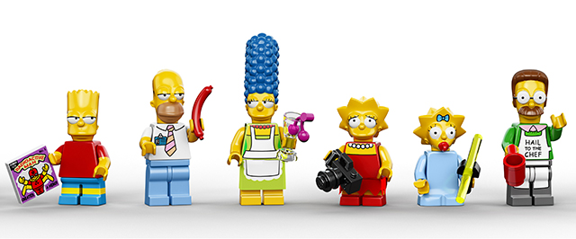71006 The Simpsons House in LEGO