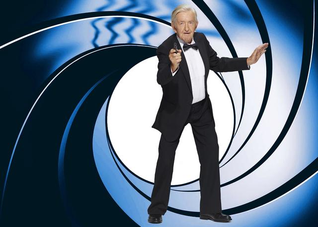 Senior Poses as 007